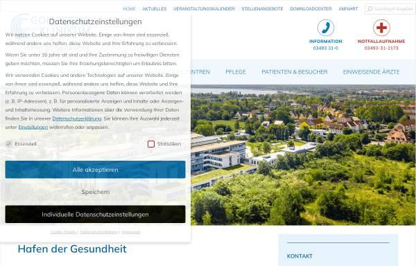 Vorschau von www.gzbiwo.de, Gesundheitszentrum Bitterfeld/Wolfen gGmbH