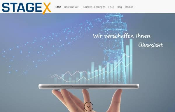 Vorschau von www.stage-x.de, Stagex Manfred Faulhaber e.K.