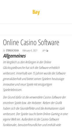 Vorschau der mobilen Webseite www.lsv-bay.de, Landesschülervertretung Bayern