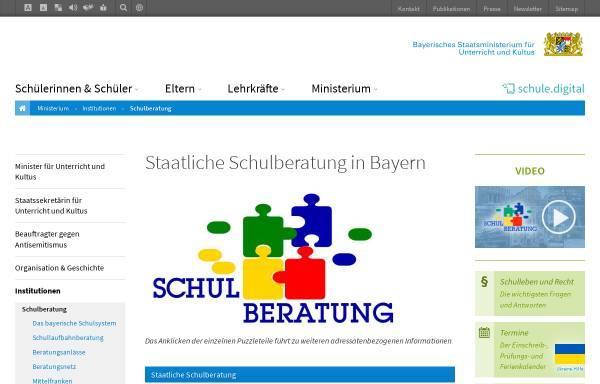 Vorschau von www.schulberatung.bayern.de, Staatliche Schulberatung