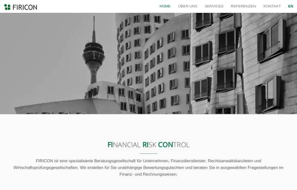 Vorschau von www.firicon.de, FIRICON GmbH