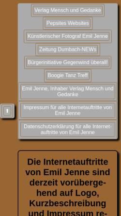 Vorschau der mobilen Webseite www.boogie-tanz-treff.de, Boogie Tanz Treff
