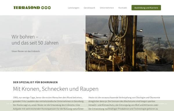 Vorschau von www.terrasond.de, Terrasond GmbH & Co. KG