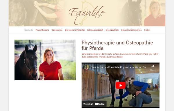 Vorschau von www.equivitale.de, Claudia Jurca