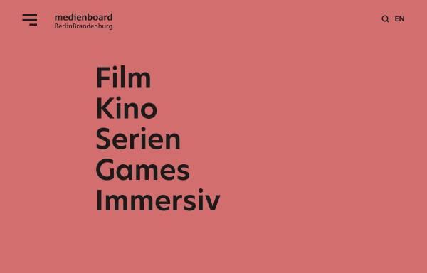 Vorschau von www.medienboard.de, Filmboard Berlin-Brandenburg