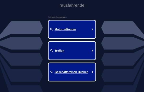 Vorschau von www.rausfahrer.de, Die Rausfahrer - Moppedtouren um Berlin