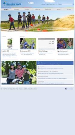 Vorschau der mobilen Webseite www.flaeming-skate.de, Flaeming-Skate