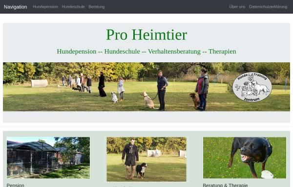 Vorschau von www.proheimtier.de, Pro Heimtiere