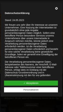 Vorschau der mobilen Webseite www.casino-zollverein.de, Casino Zollverein GmbH