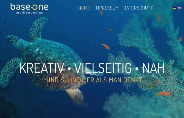 Vorschau von www.base-one.de, Base-One Mediendesign