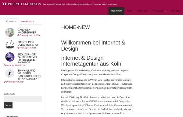 Vorschau von www.internetunddesign.de, Lutz Raichle
