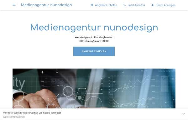 Vorschau von www.nunodesign.de, Nunodesign