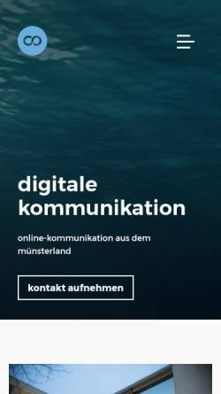 Vorschau der mobilen Webseite www.createoceans.com, CREATEOCEANS GmbH & Co.KG