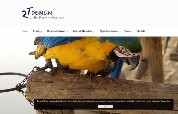 Vorschau von 2t-design.de, 2T Design