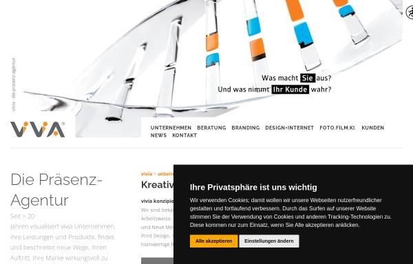 Vorschau von www.vivia.de, Vivia interaktiv