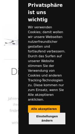 Vorschau der mobilen Webseite www.vivia.de, Vivia interaktiv