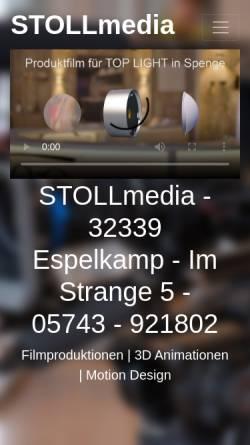 Vorschau der mobilen Webseite sm1.de, SM1 - STOLL MEDIEN
