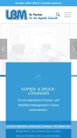Vorschau der mobilen Webseite tec-sas.de, TEC-SAS GmbH & Co. KG