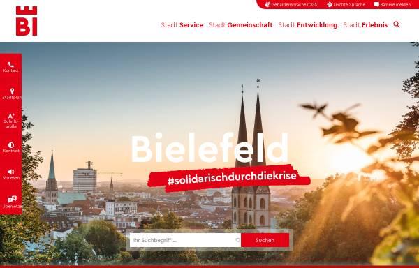 Vorschau von www.bielefeld.de, Bielefeld