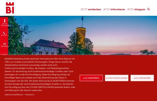 Vorschau von www.sparrenburg.info, Sparrenburg Bielefeld