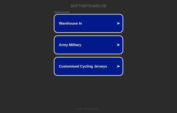 Vorschau von www.softairteams.de, Softair Teams und Softair Spieler