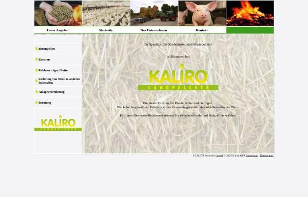 Vorschau von www.kaliro.de, Kaliro GbR