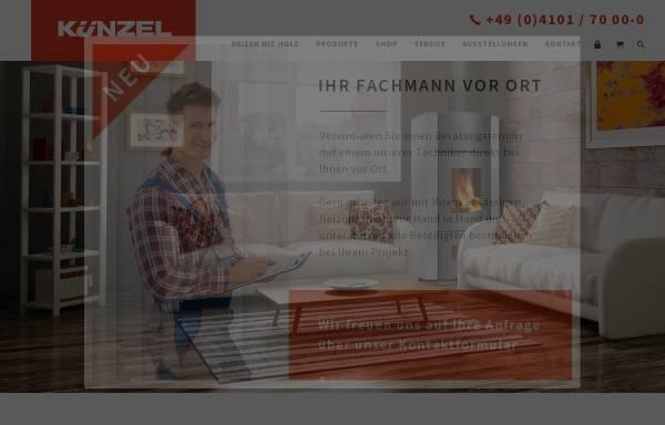 Vorschau von www.kuenzel.de, Paul Künzel GmbH & Co.