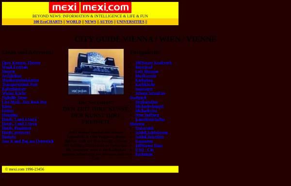 Vorschau von www.mexi.com, City Guide