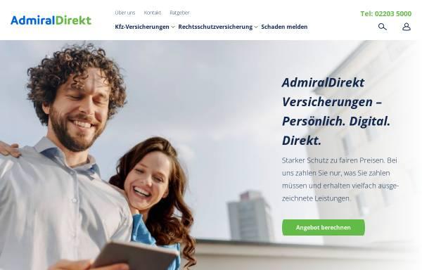 Vorschau von www.admiraldirekt.de, AdmiralDirekt.de, Inhaber EUI Limited