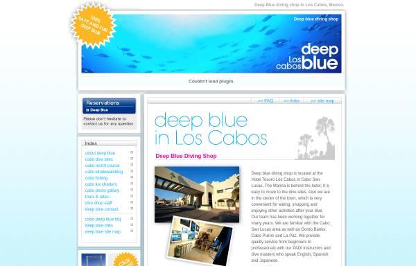 Vorschau von cabodeepblue.com, Deep Blue