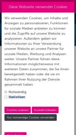 Vorschau der mobilen Webseite www.action-sport-dortmund.de, Action-Sport Dortmund - Tauchcenter