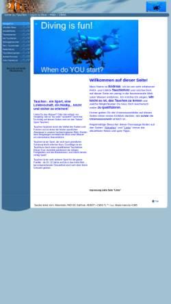 Vorschau der mobilen Webseite lerne-zu-tauchen.de, Lerne zu Tauchen