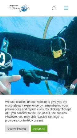 Vorschau der mobilen Webseite www.waterworld-online.de, Waterworld