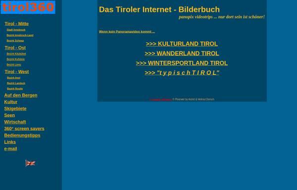 Vorschau von www.tirol360.com, Tirol 360°