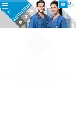 Vorschau der mobilen Webseite www.fit-bildung.de, FIT-Ausbildungs-Akademie gGmbH