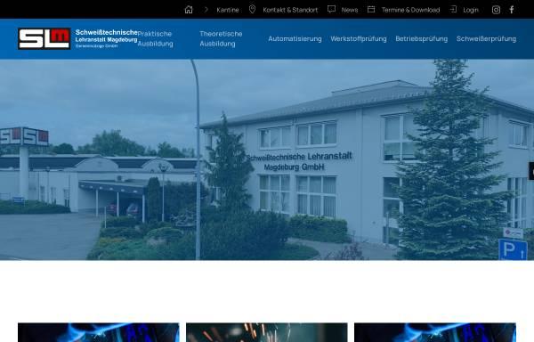 Vorschau von www.sl-magdeburg.de, Schweißtechnische Lehranstalt Magdeburg GmbH