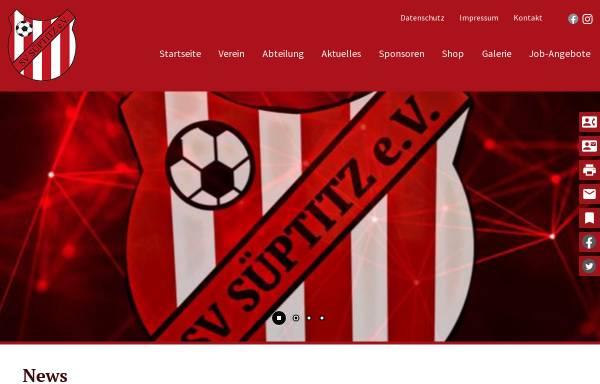 Vorschau von www.sv-sueptitz.de, Sportverein SV Süptitz