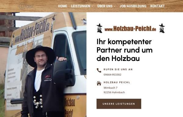 Vorschau von www.holzbau-peichl.de, Holzbau - Zimmerei Peichl