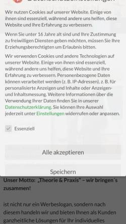 Vorschau der mobilen Webseite www.holzbau-peichl.de, Holzbau - Zimmerei Peichl