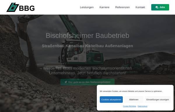 Vorschau von www.bbg-bau.de, BBG Bischofsheimer Baubetrieb GmbH & Co. KG