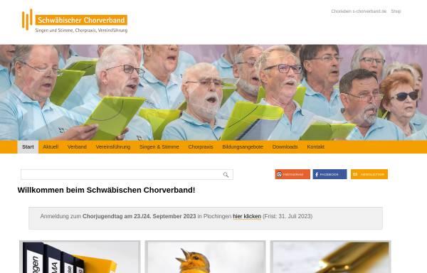 Vorschau von www.ssb1849.de, Schwäbischer Sängerbund 1849 e.V.