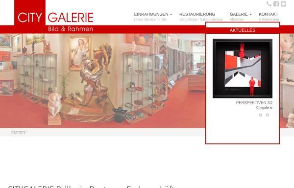 Vorschau von www.citygalerie-brilke.de, Citygalerie Brilke
