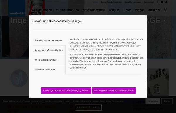 Vorschau von www.artig.st, Galerie im Kunstkabinett
