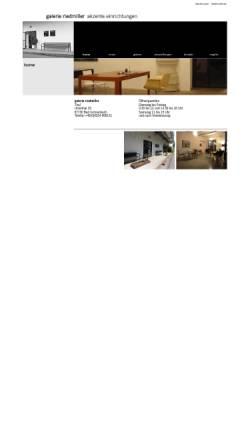 Vorschau der mobilen Webseite www.galerie-riedmiller.de, Galerie Riedmiller