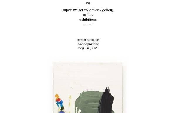 Vorschau von rupertwalser.com, Galerie Rupert Walser