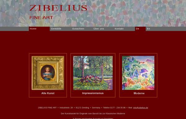 Vorschau von www.galerie-hannover.de, Galerie Zibelius