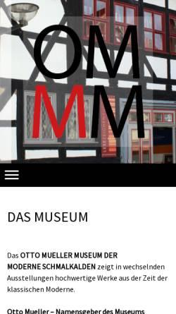 Vorschau der mobilen Webseite www.kunst-geniessen.de, Kunsthaus am Markt