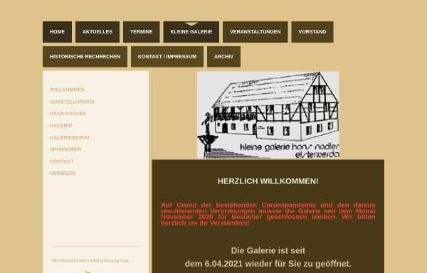 Vorschau von www.nadler-galerie.de, Nadler Galerie