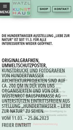 Vorschau der mobilen Webseite www.artmix24.de, Watzl und Watzl