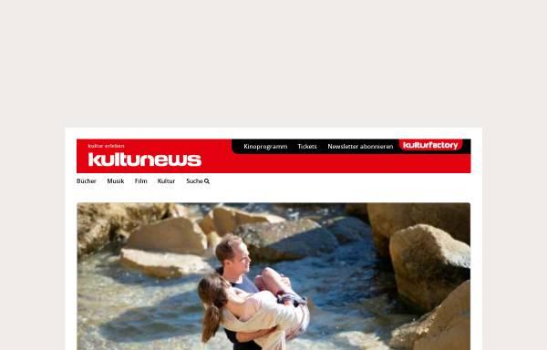 Vorschau von www.kulturnews.de, Kulturnews